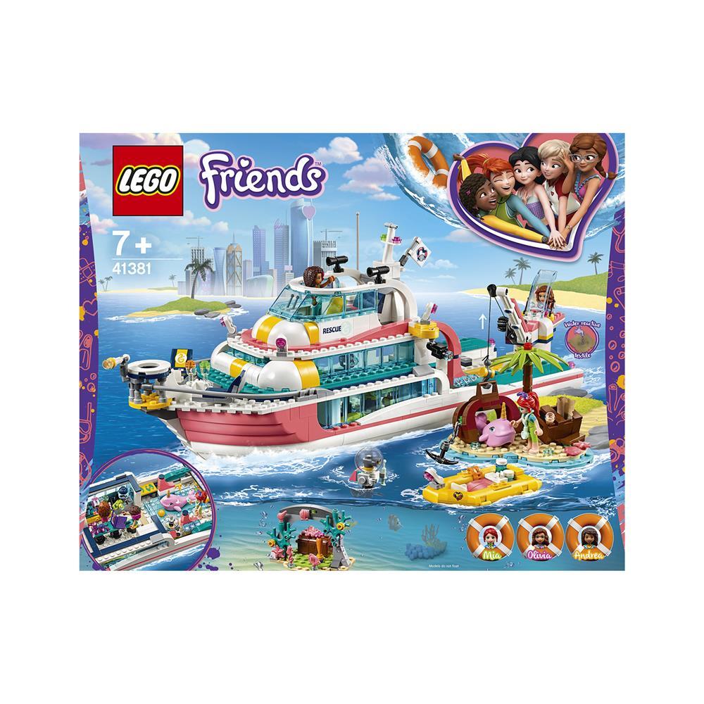 LEGO Friends Čoln za reševalne akcije 41381