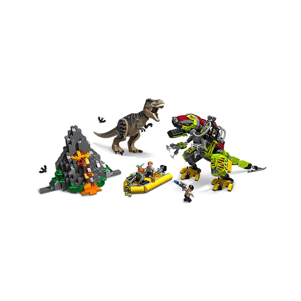 LEGO Jurassic World Boj tiranozavra proti robotskemu dinozavru 75938