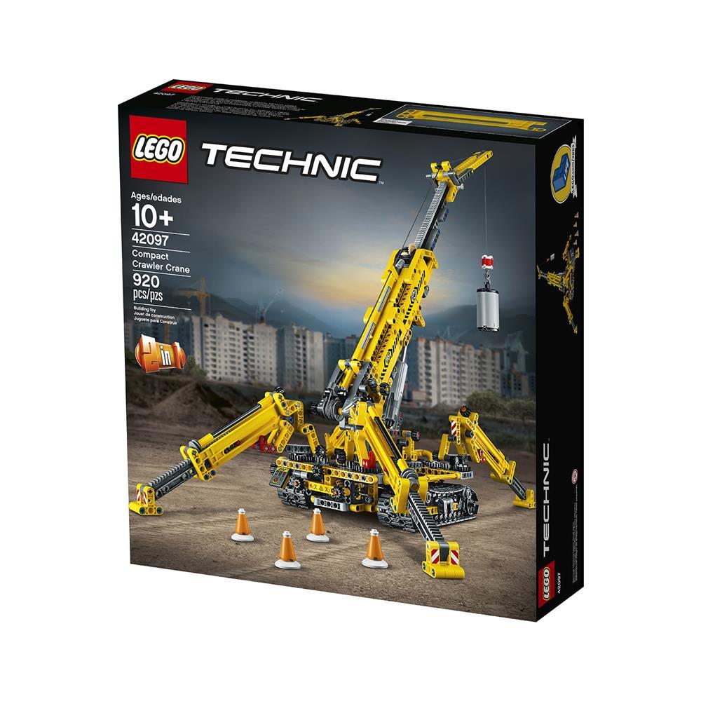 LEGO Technic Mali žerjav na gosenicah 42097