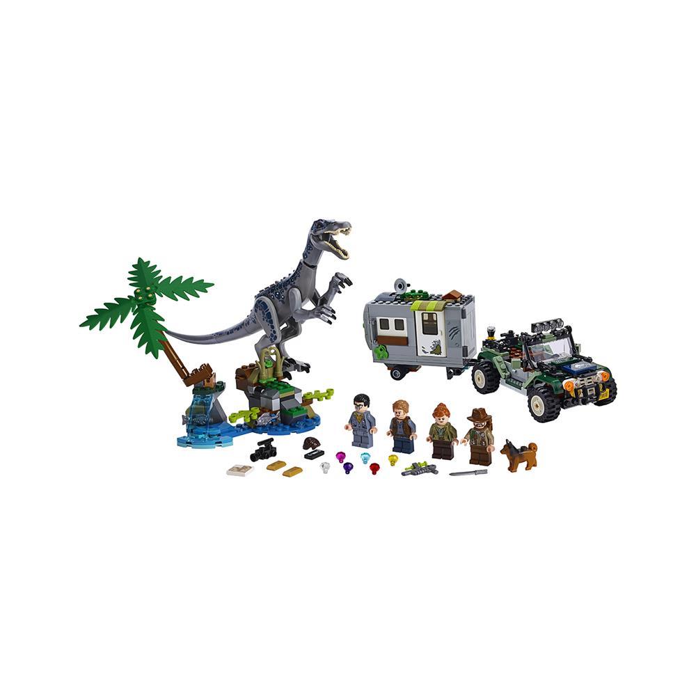LEGO Jurassic World Spopad z baryonyxom: Lov za zakladom 75935