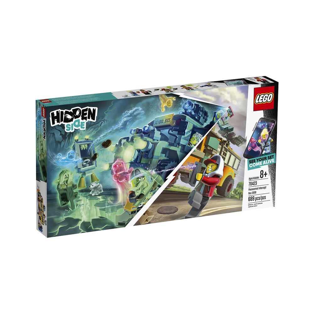 LEGO Hidden Side Avtobus za prestrezanje paranormalnega 3 70423
