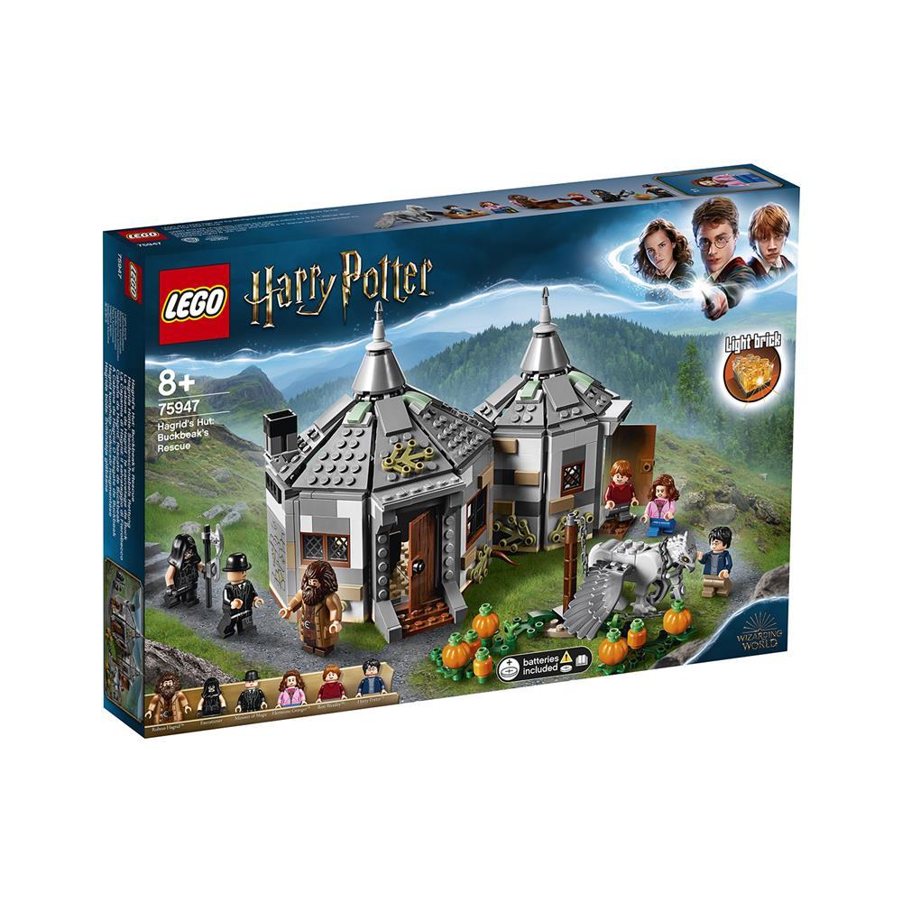 LEGO Harry Potter Hagridova koča: rešitev Žrebokluna 75947