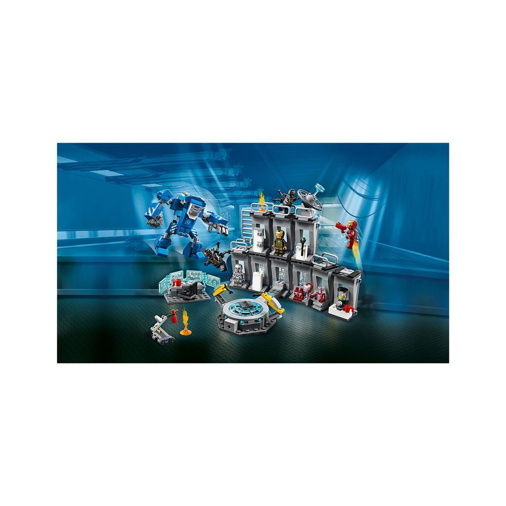 LEGO Super Heroes Iron Manova orožarska dvorana 76125