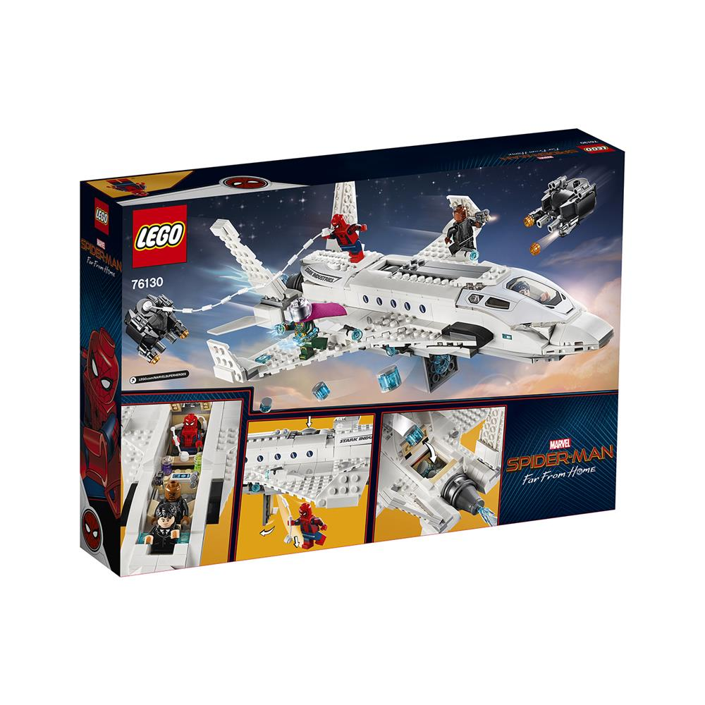 LEGO Super Heroes Starkov reaktivec in napad z droni 76130