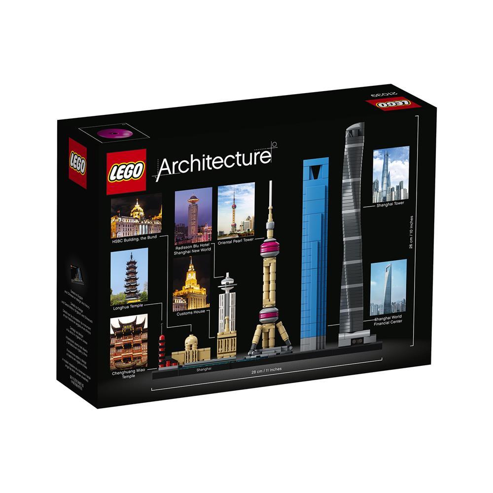 LEGO Architecture Šanghaj 21039