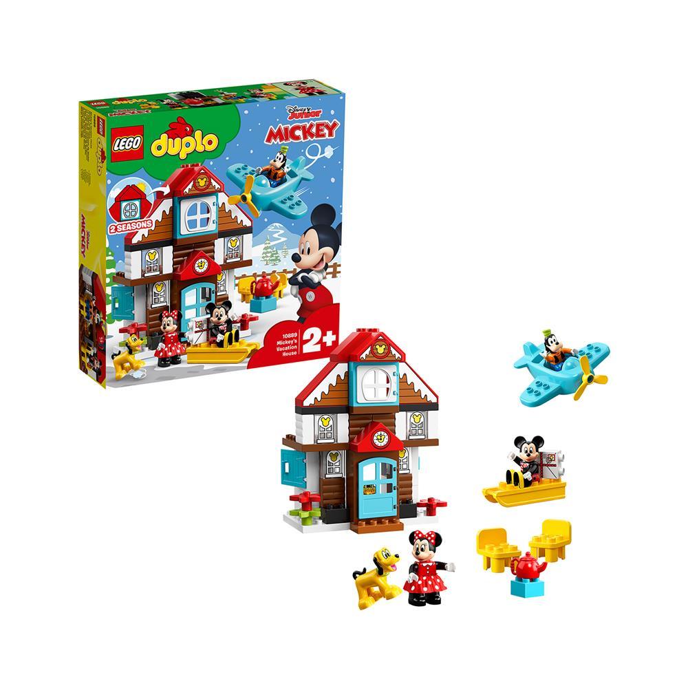 LEGO Duplo Mikijeva počitniška hiška 10889