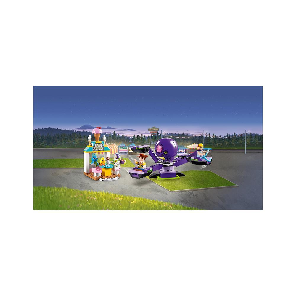 LEGO Juniors Ken in Jelko v zabaviščnem parku 10770