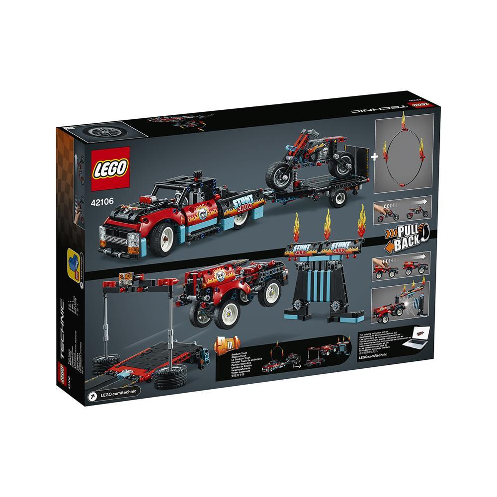 LEGO Technic Kaskaderska tovornjak in motor 42106