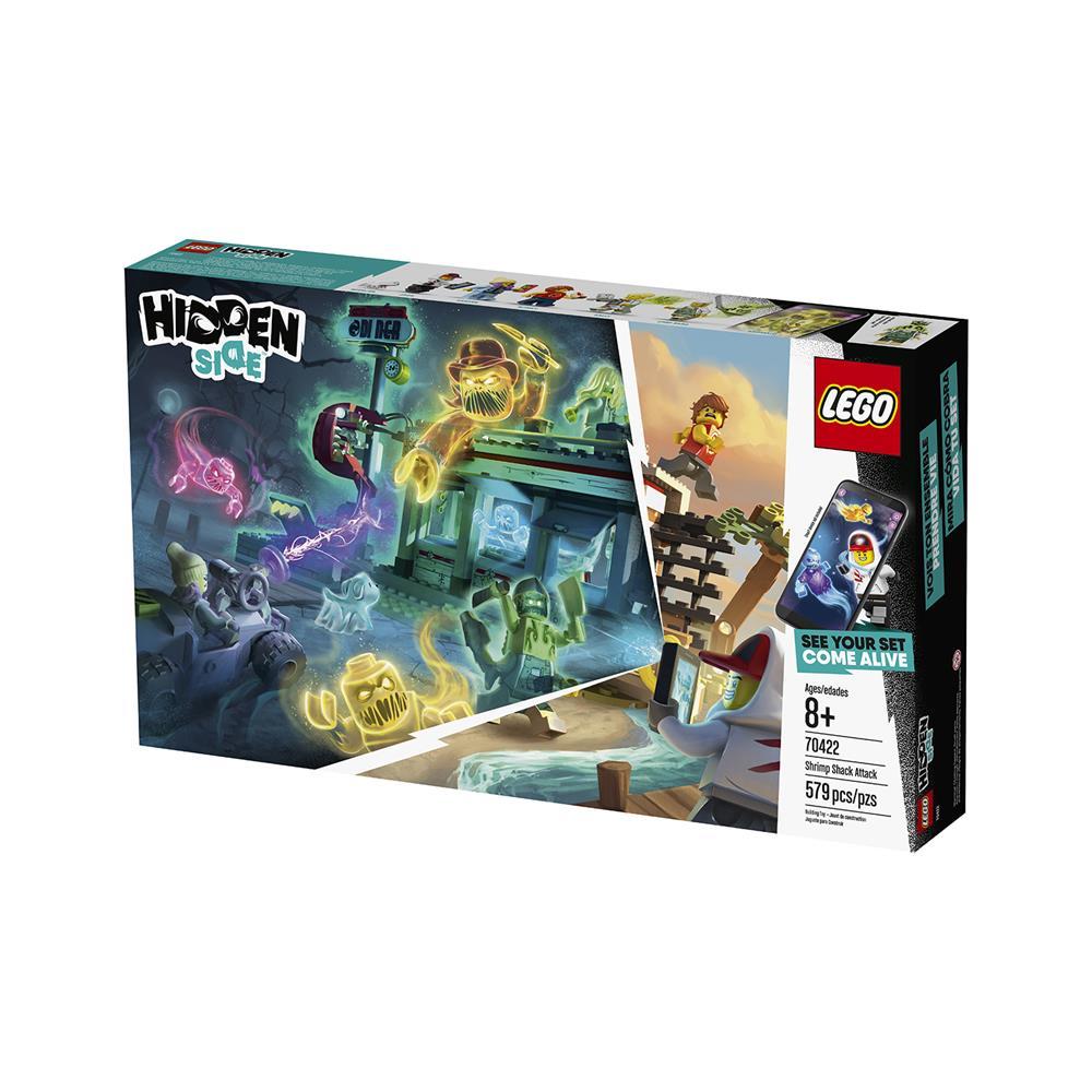 LEGO Hidden Side Napad na kočo za lov na rakce 70422