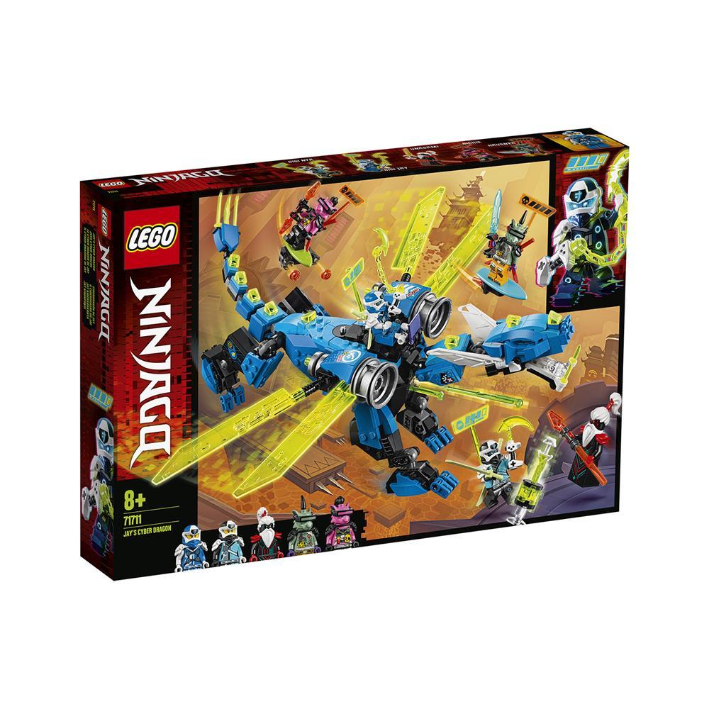 LEGO Ninjago Jayjev kibernetični zmaj 71711
