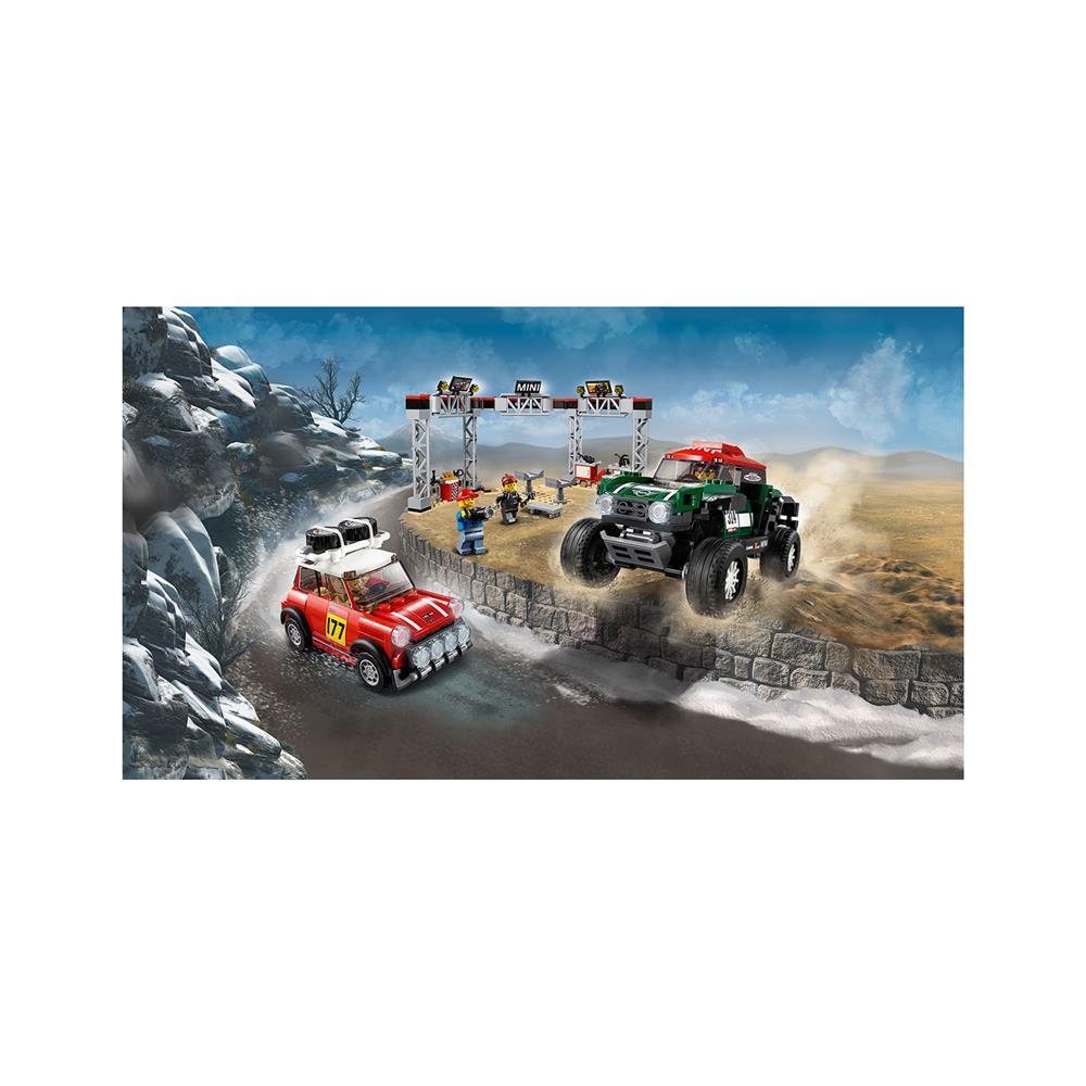 LEGO Speed Champions 1967 Mini Cooper S Rally in 2018 MINI John Cooper Works Buggy 75894