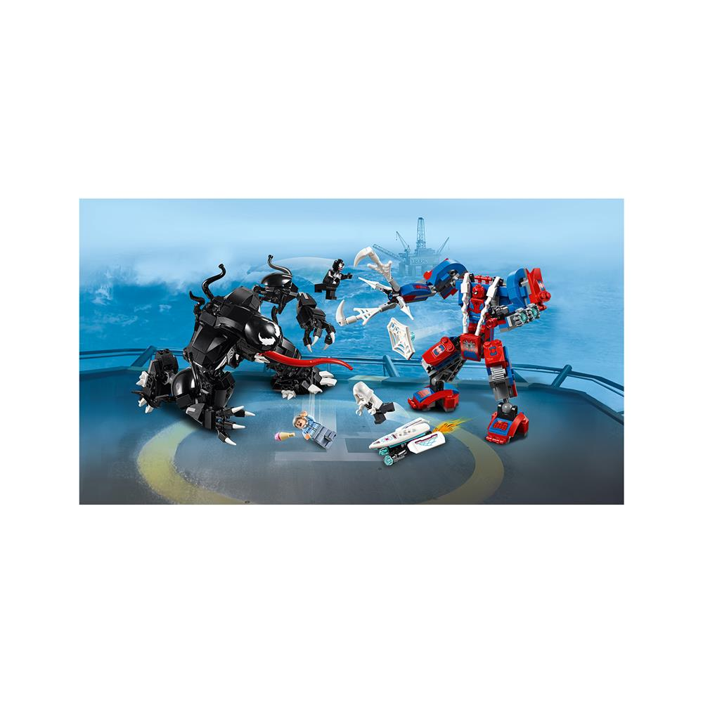 LEGO Super Heroes Spider robot proti Venomu 76115