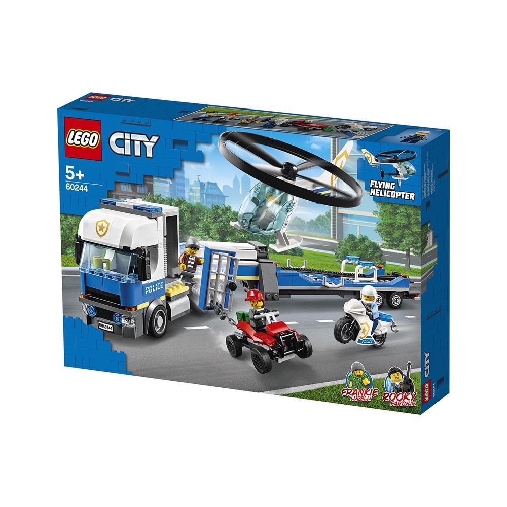 LEGO City Transport policijskega helikopterja 60244