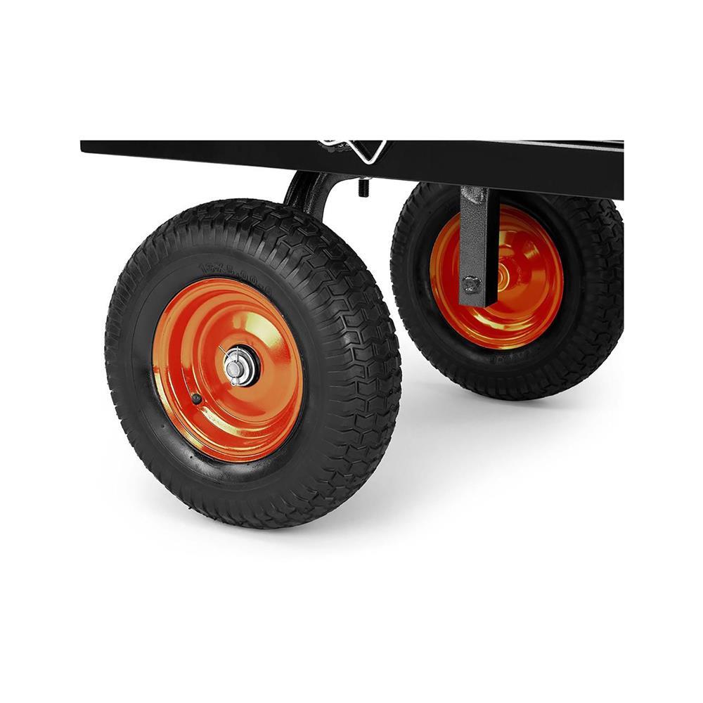 VonHaus Mrežasti vrtni voziček do 600 kg (VONDV-15/292)