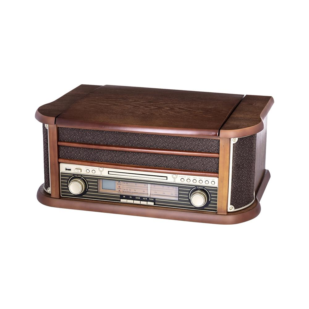 Camry Retro gramofon/radio/CD player/USB player/snemalnik (CR 1111)