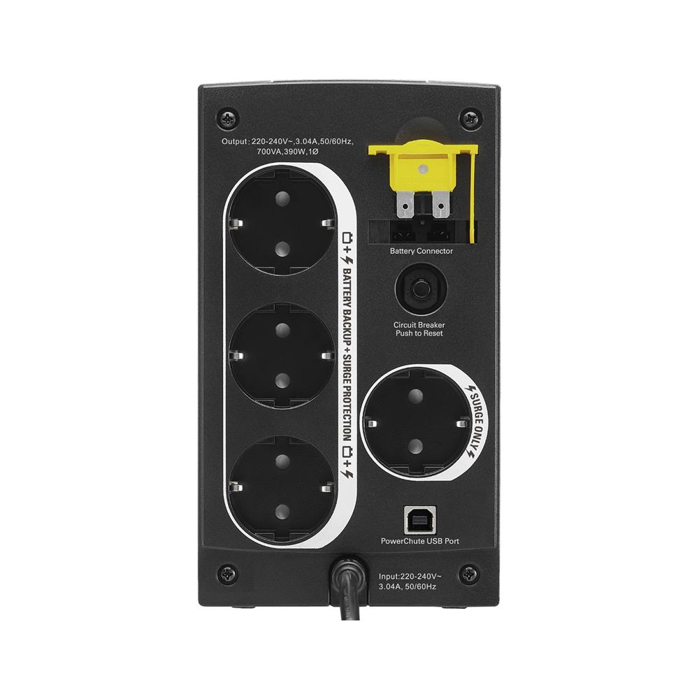APC UPS brezprekinitveni napajalnik Back-UPS BX700U-GR 390W