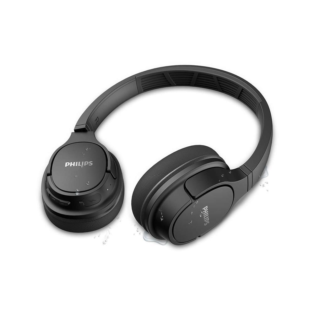 Philips Brezžične slušalke TASH402BK