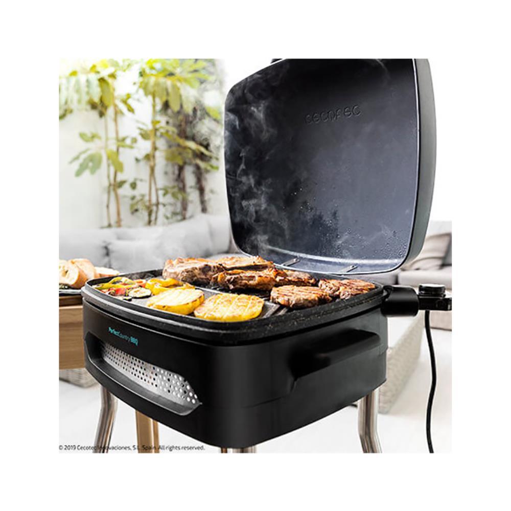 Cecotec Električni žar s stojalom Perfect Country BBQ