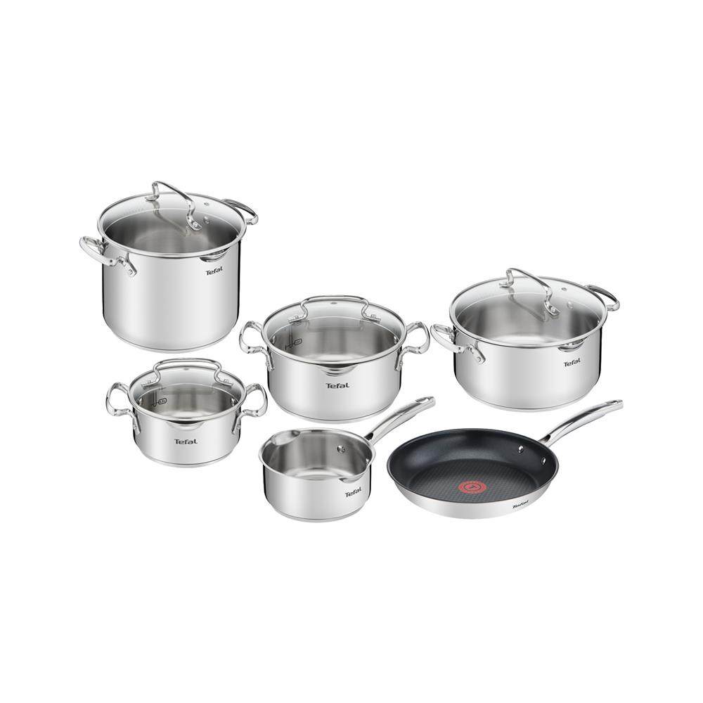 Tefal 10-delni set loncev Duetto plus G718SA74