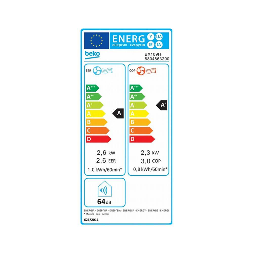 Beko Prenosna klima BX109H