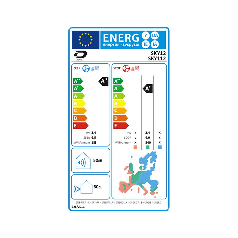 Diloc Klimatska naprava SKY 112