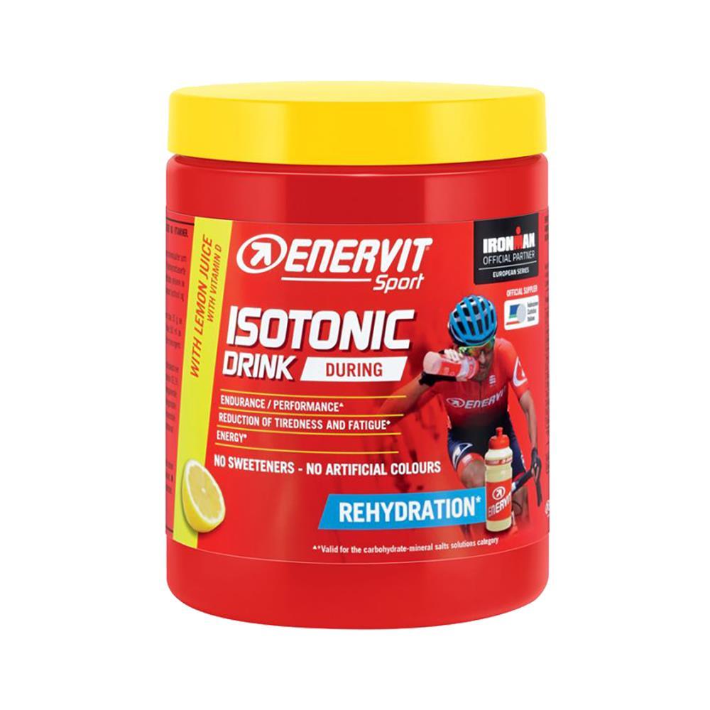 ENERVIT Napitek Sport Isotonic (6 kosov po 420 g) limona in bidon