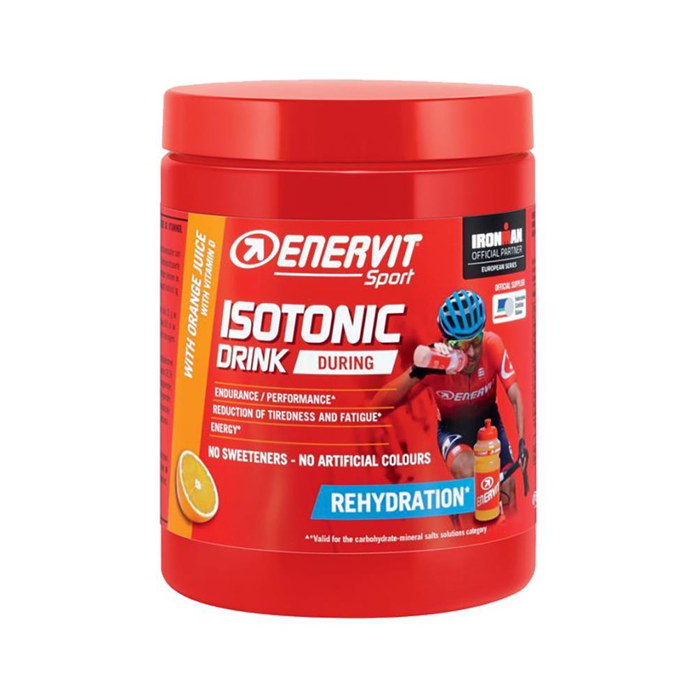 ENERVIT Napitek Sport Isotonic (6 kosov po 420 g) pomaranča in bidon