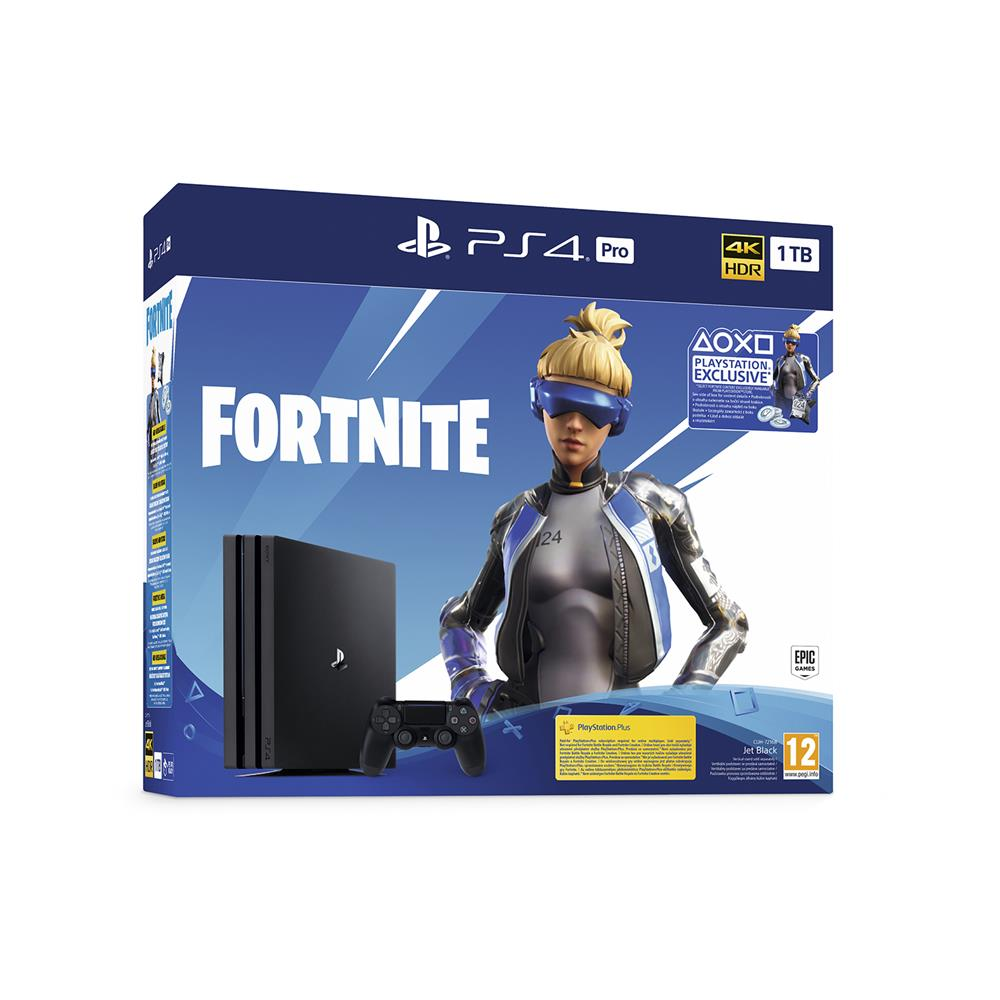 Sony PlayStation®4 Pro in 3 igre ( Fortnite, GrandTurismo Sport in God Of War)