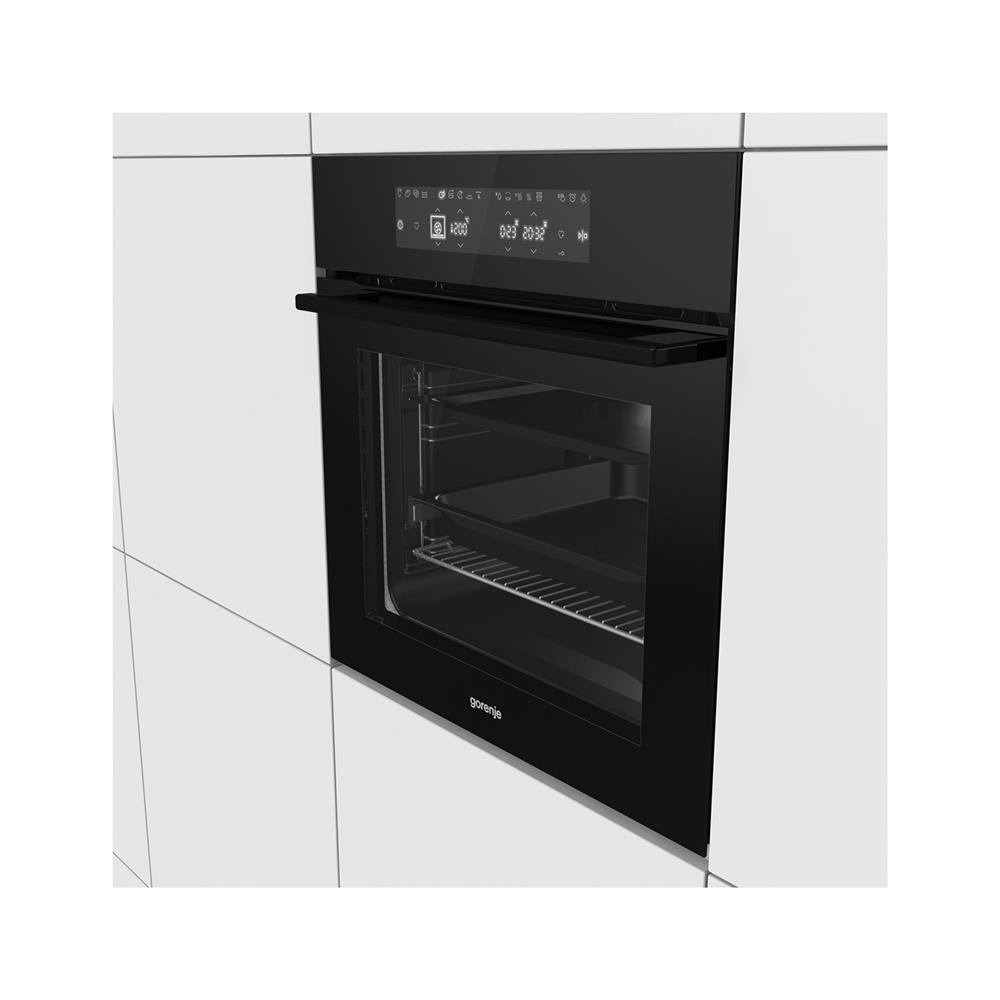 Gorenje Vgradna pirolitična pečica BOP658A23BG in Indukcijska kuhalna plošča IT645BX