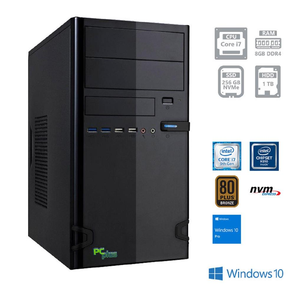 PCplus E-Office I7-9700 Windows 10 Pro