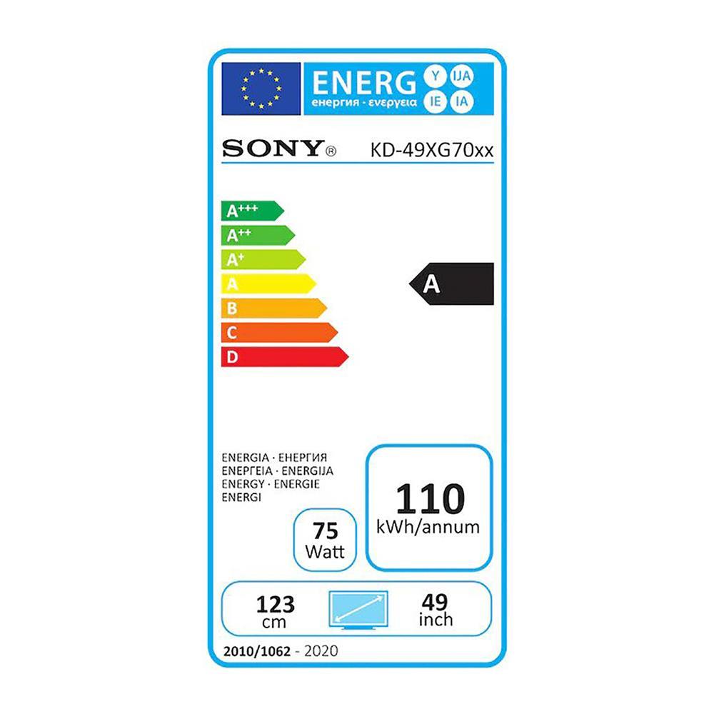 Sony KD49XG7096BAEP 4K