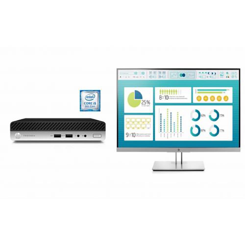 HP Komplet ProDesk 400 G5 DM (7EM44EA ) in monitor EliteDisplay E273 (1FH50AA)