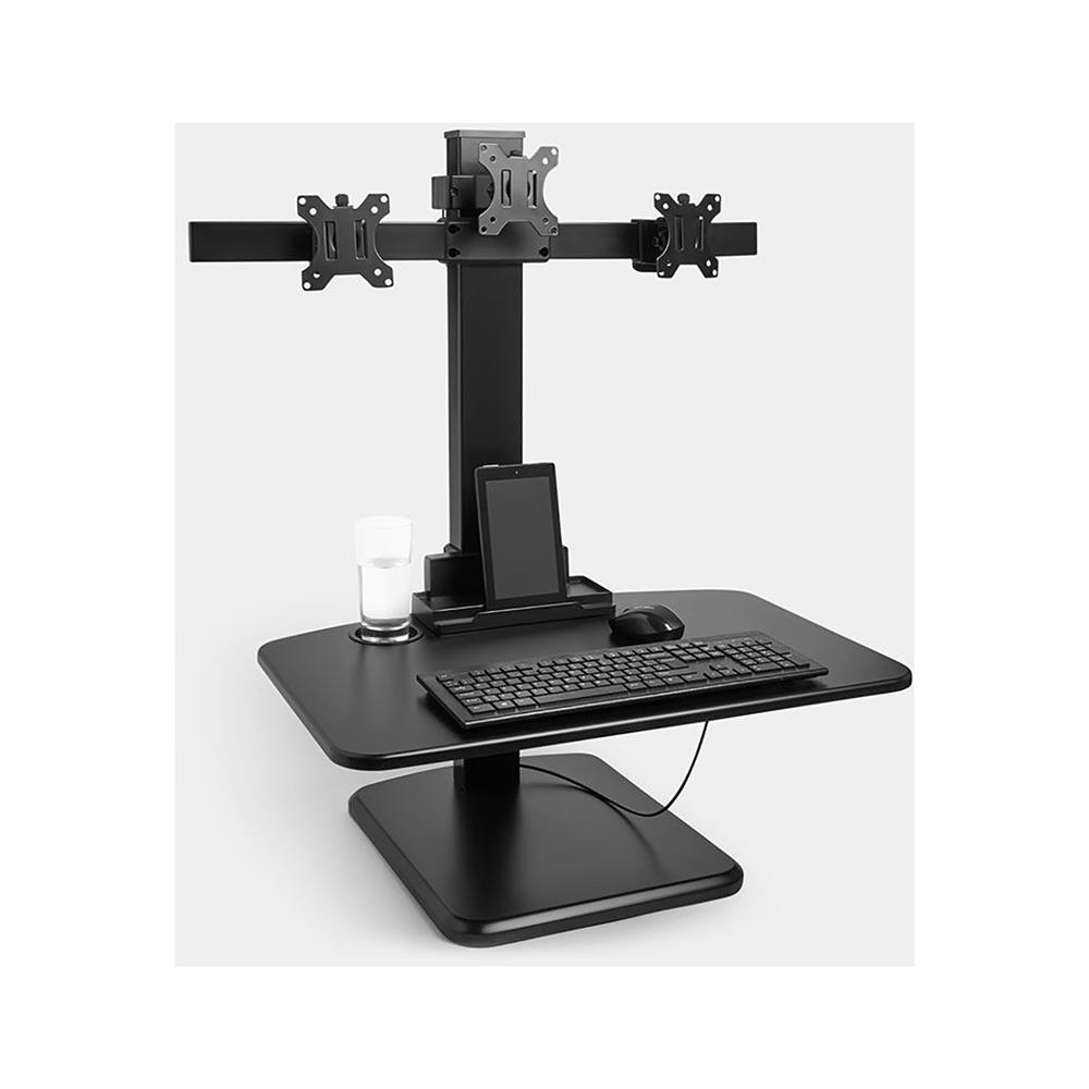 VonHaus Delovna postaja za več monitorjev Sit&Stand
