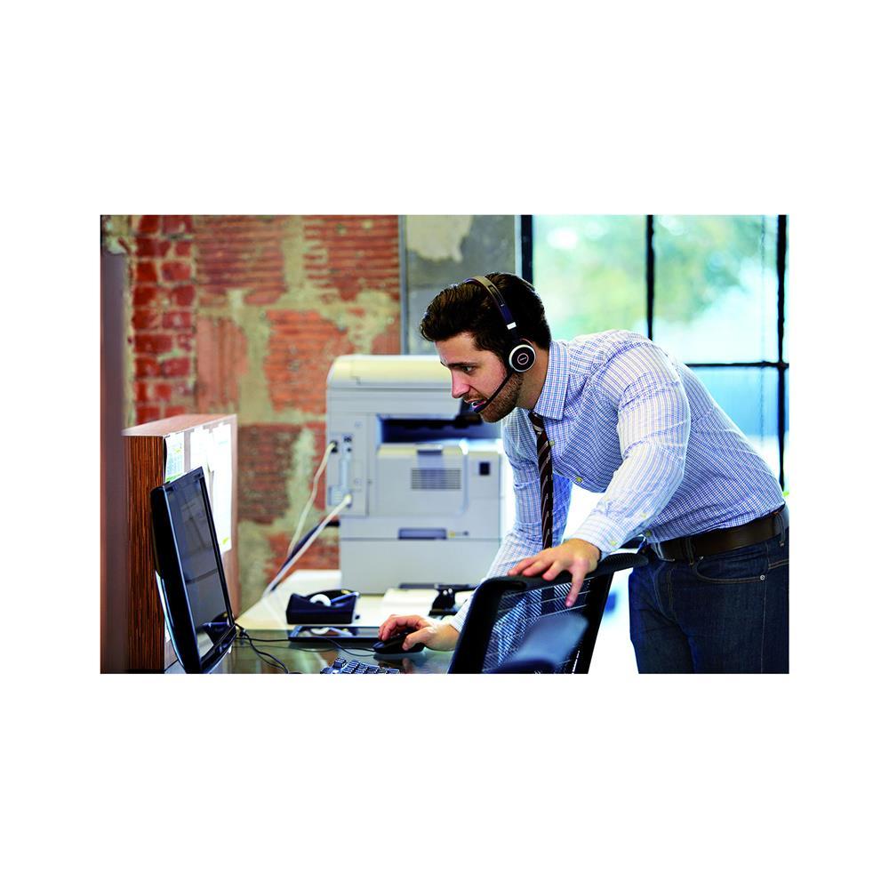Jabra Bluetooth naglavne slušalke Evolve 65 MS Duo USB in USB dongle Link 370