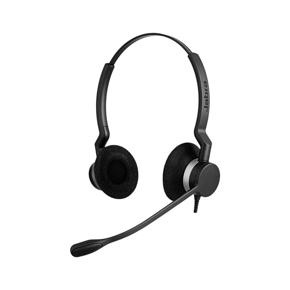 Jabra Naglavne slušalke BIZ 2300 DUO s Smart cord priključno vrvico