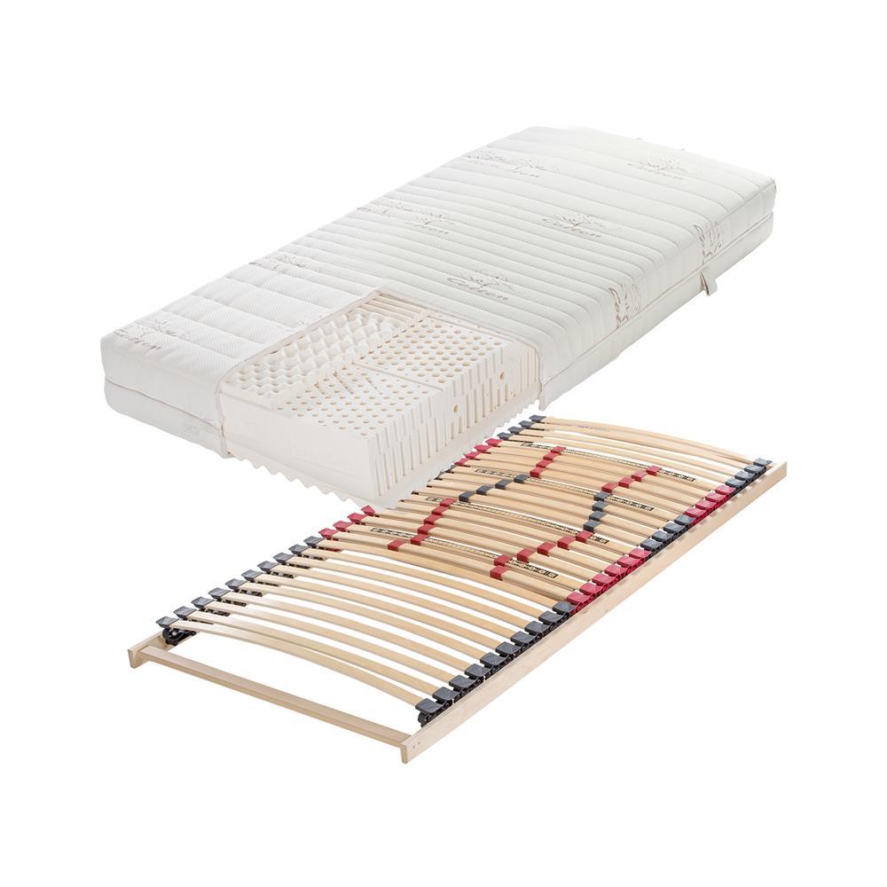 Hitex Set ležišča Lux Comfort Cott ET,180x200 cm in dveh letvenih dnov Regular Lux fiksno 90x200 cm