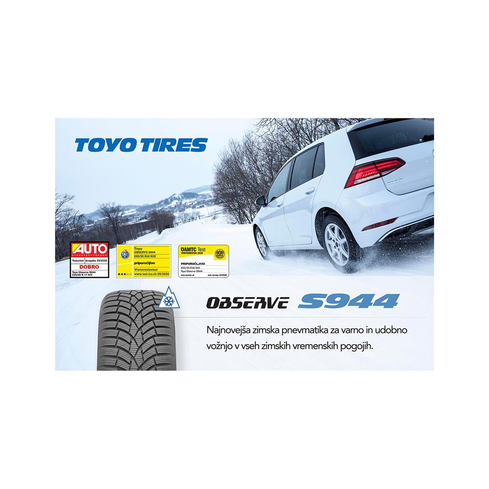 Toyo 4 zimske pnevmatike 185/65R15 92H Observe S944  XL