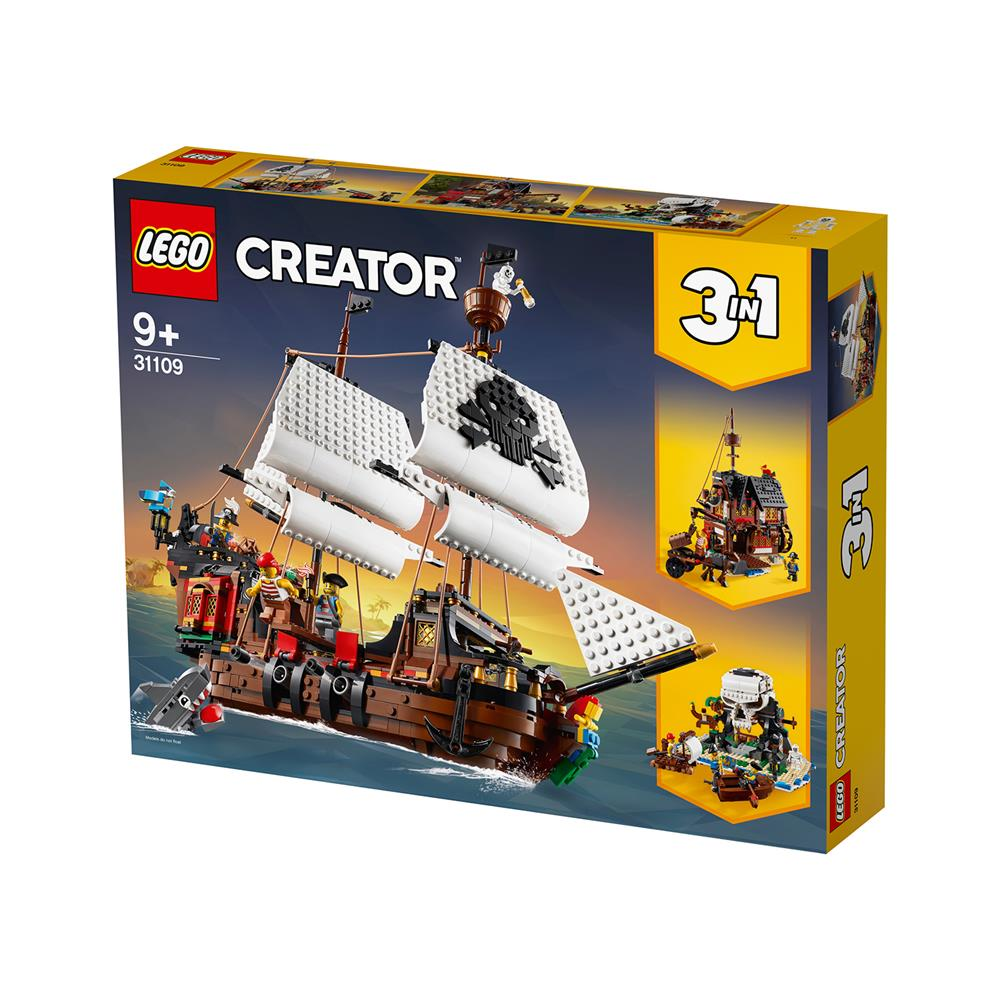 LEGO Creator Piratska ladja 31109
