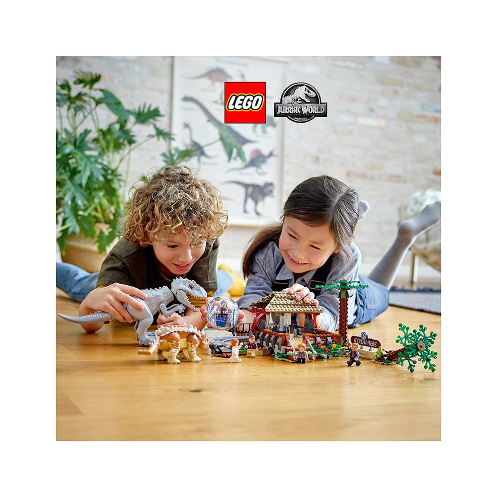 LEGO Jurassic World Indominus reks proti ankilozavru 75941