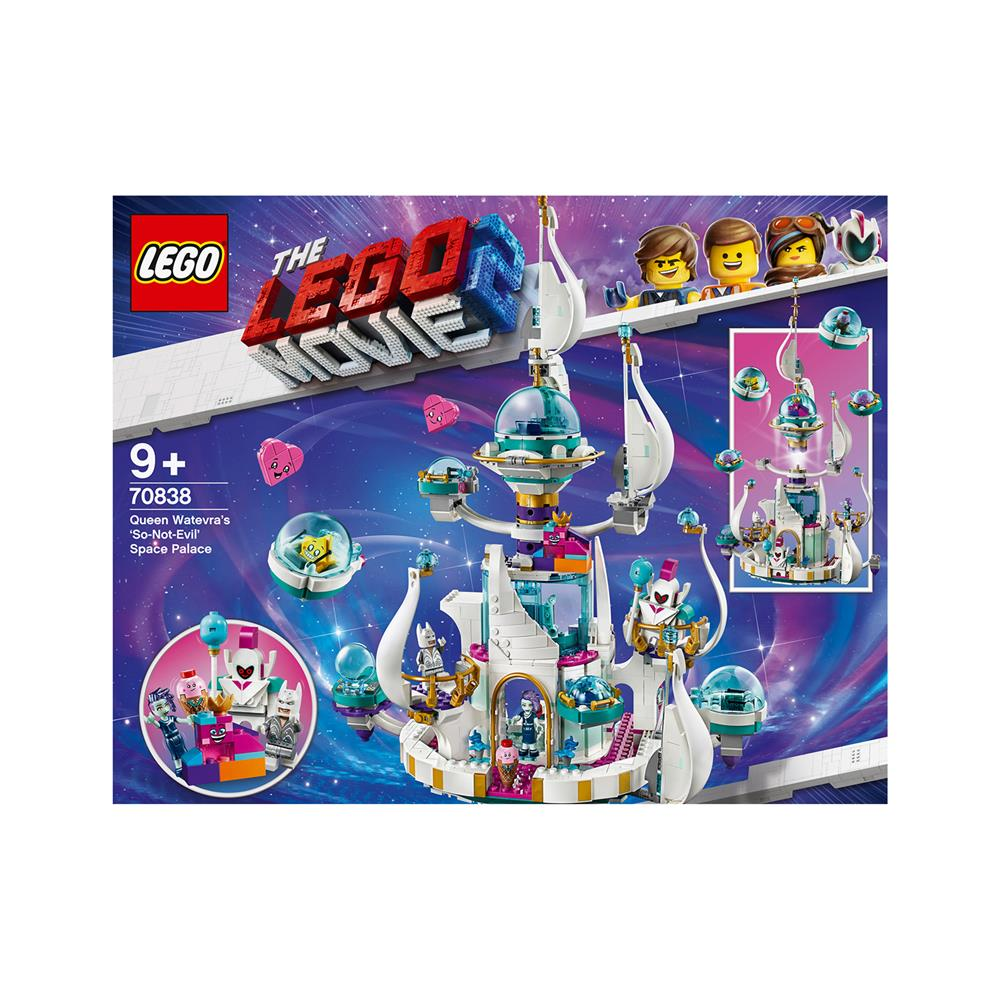 LEGO Movie Ne tako zlobna' vesoljska palača kraljice Karbi 70838