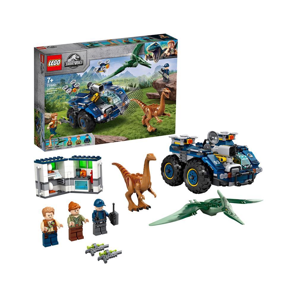 LEGO Jurassic World Pobeg gallimimusa in pteranodona 75940