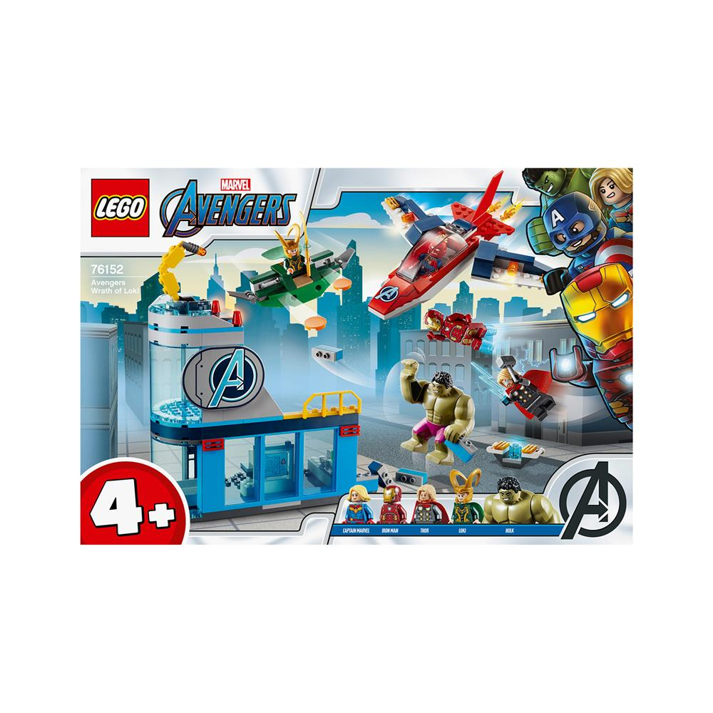 LEGO Super Heroes Maščevalci - Lokijev bes 76152