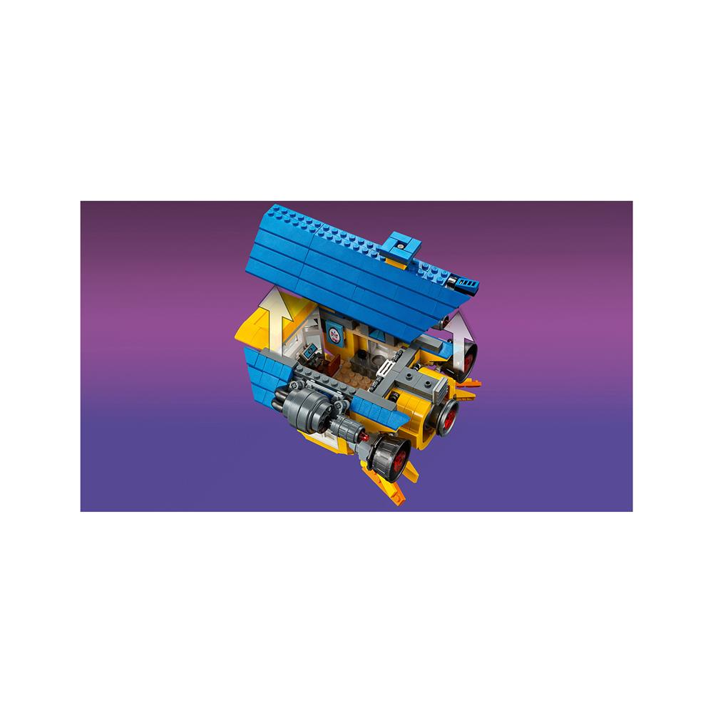 LEGO Movie Emmetova sanjska hiša/rešilna raketa! 70831