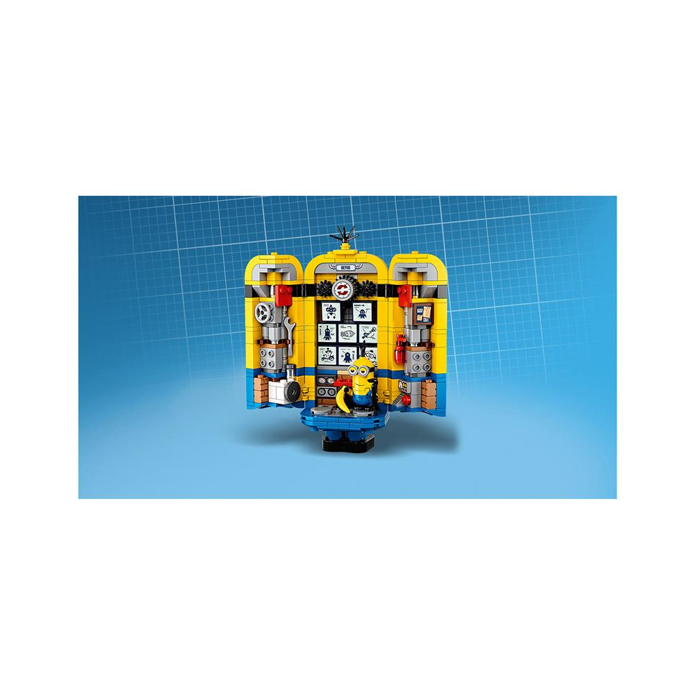 LEGO Minions Iz kock sestavljeni Minioni v njihovi vo 75551