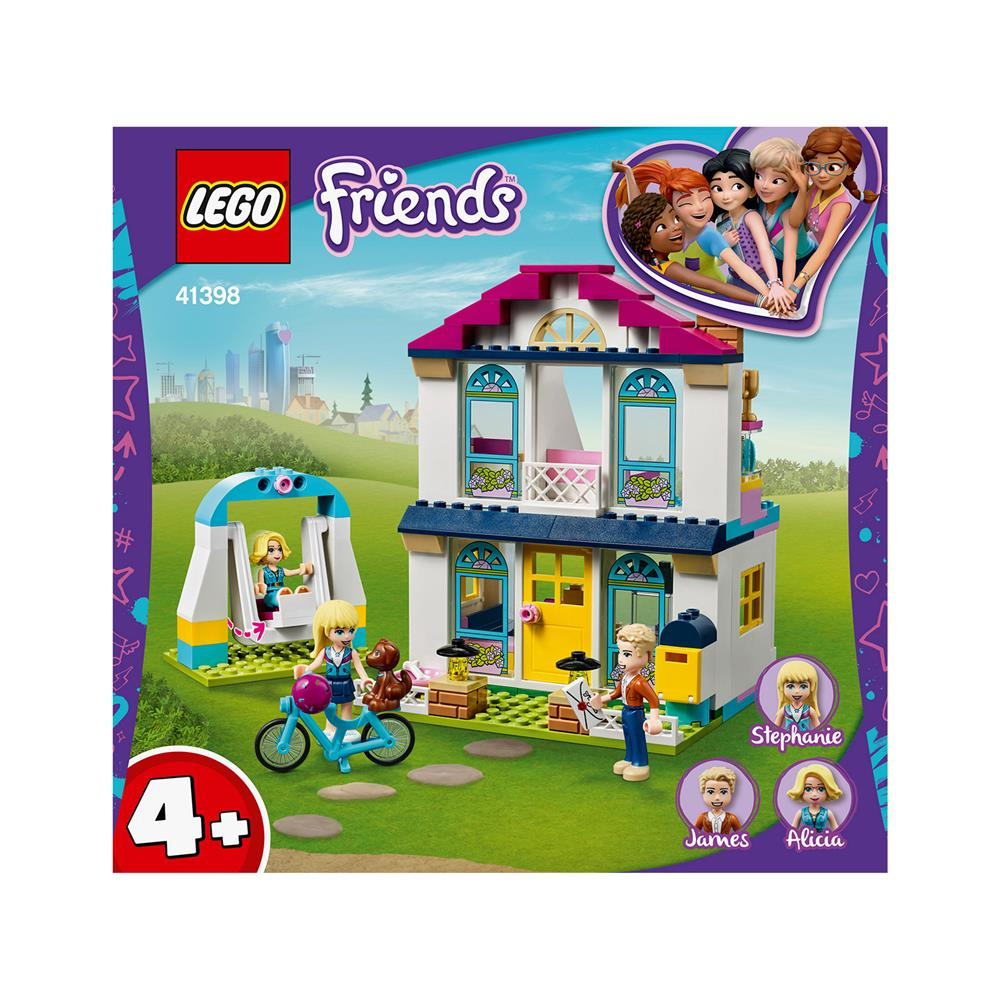 LEGO Friends 4+ Stephaniejina hiša 41398