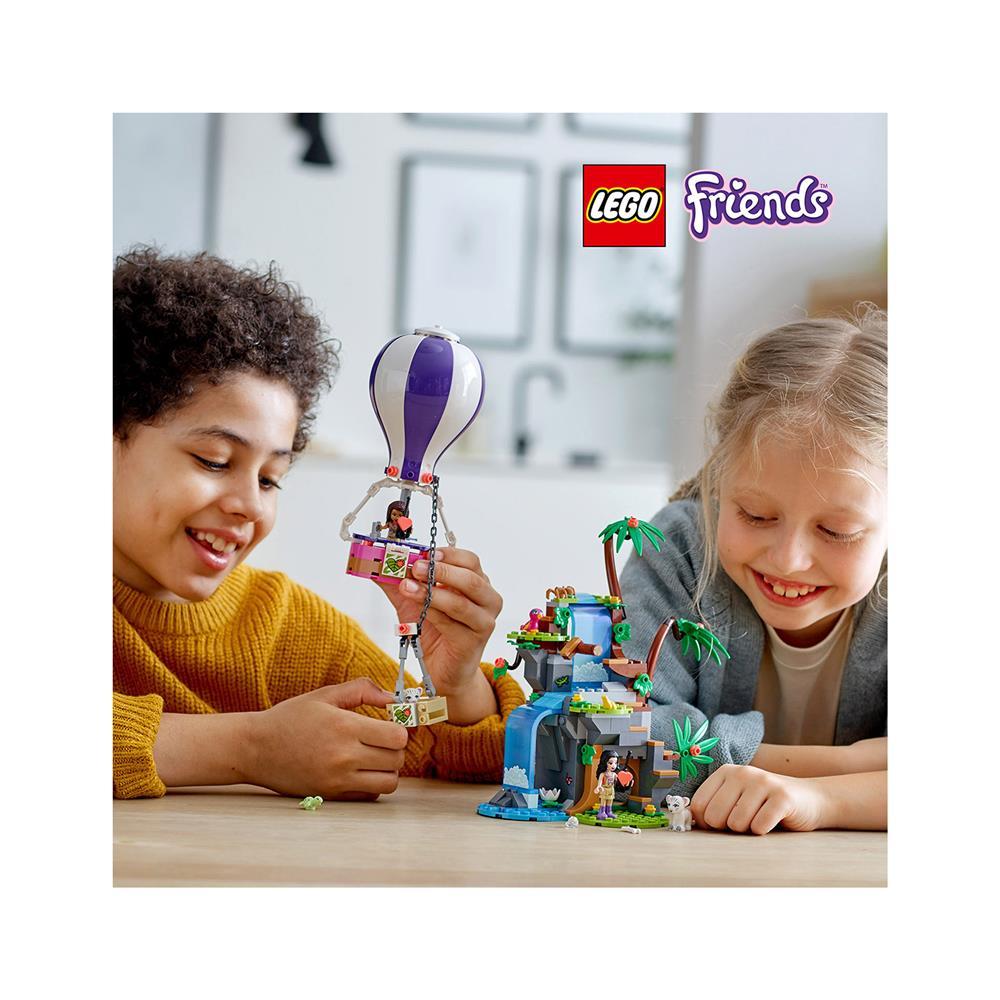 LEGO Friends Džungelsko reševanje tigra z balonom 41423