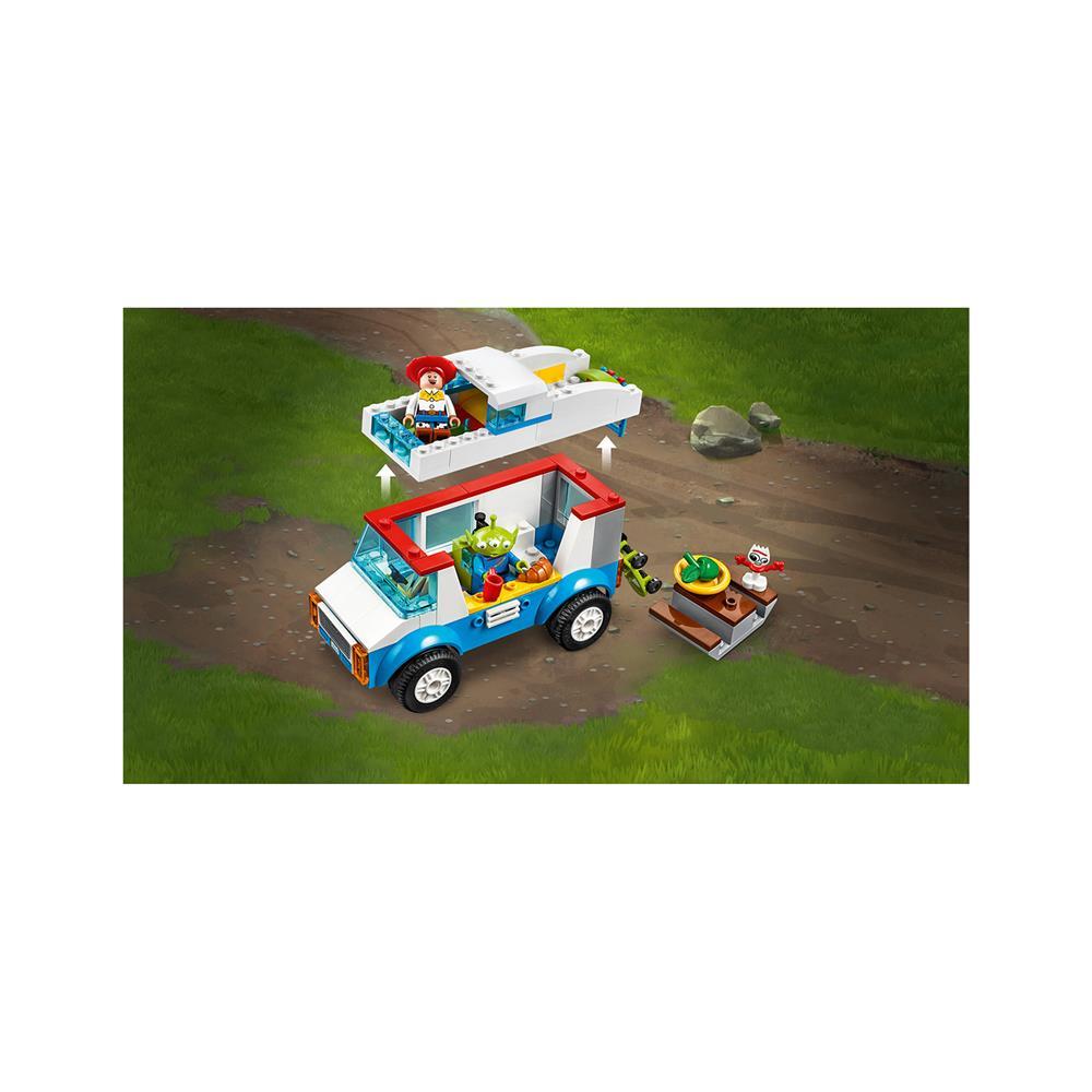 LEGO Juniors Svet igrač 4 gre na počitnice z avtodomom 10769
