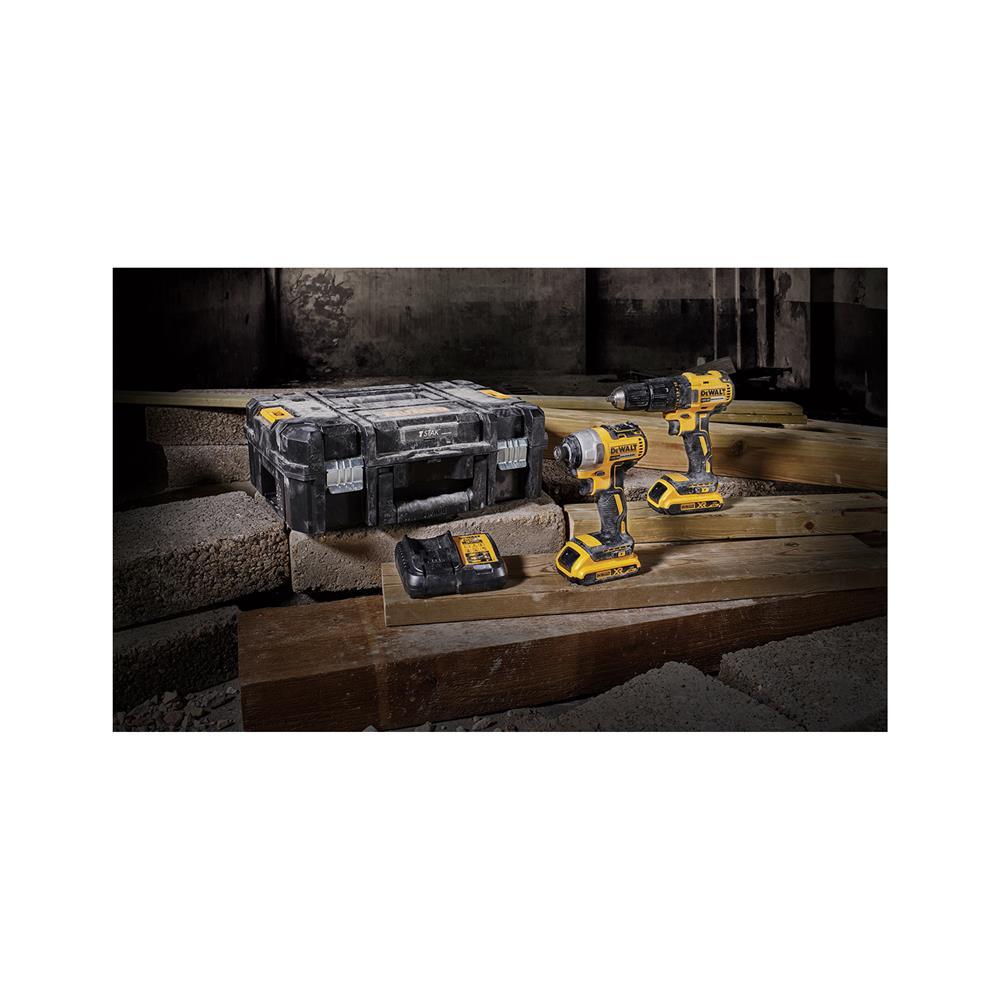 DeWALT Set akumulatorskega orodja 18V DCK2059D2T
