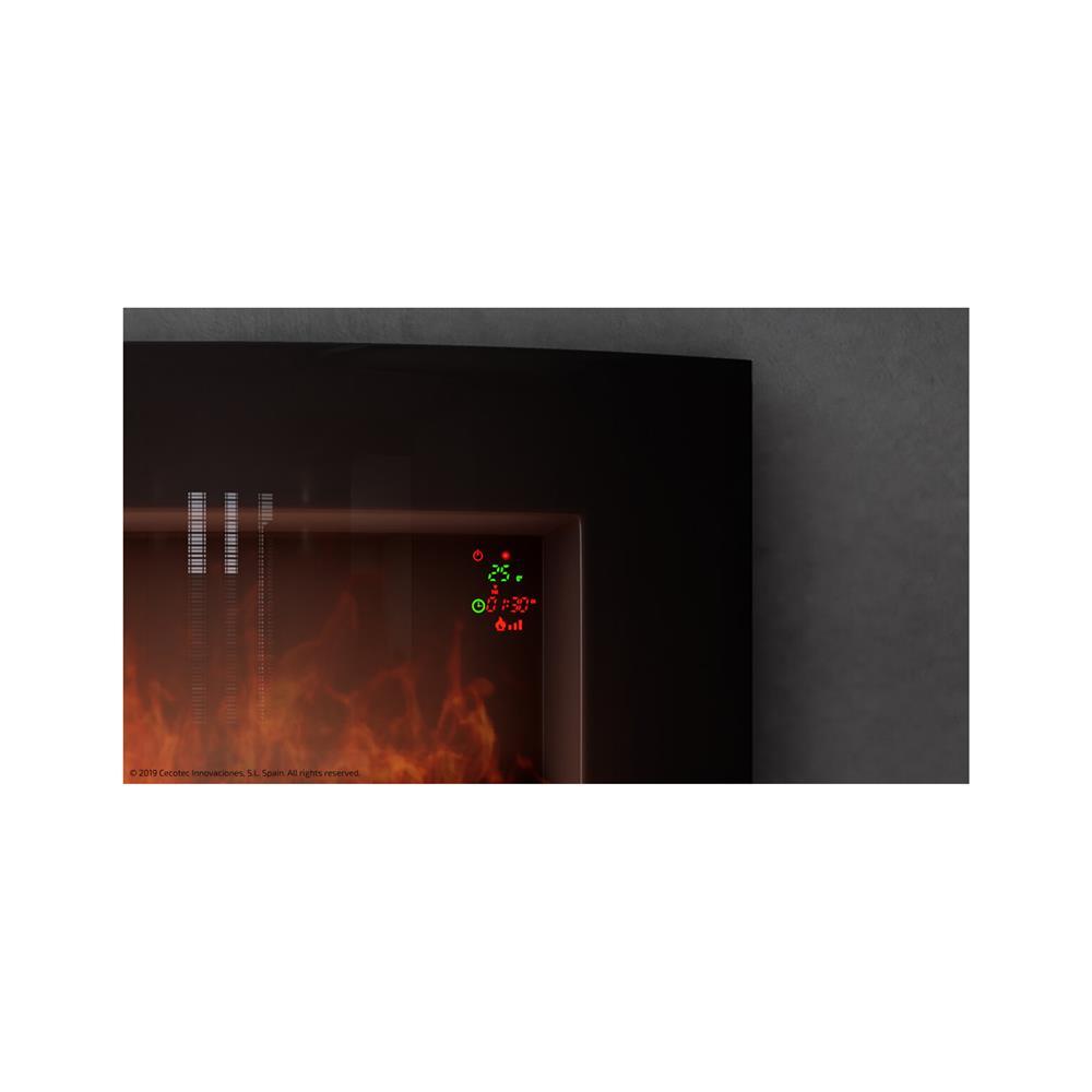 Cecotec Električni kamin Ready Warm 2200 Curved Flames