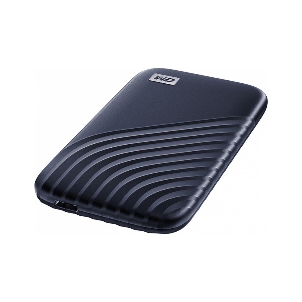 Western Digital Zunanji disk My Passport SSD USB-C 3.2 (WDBAGF5000ABL-WESN)